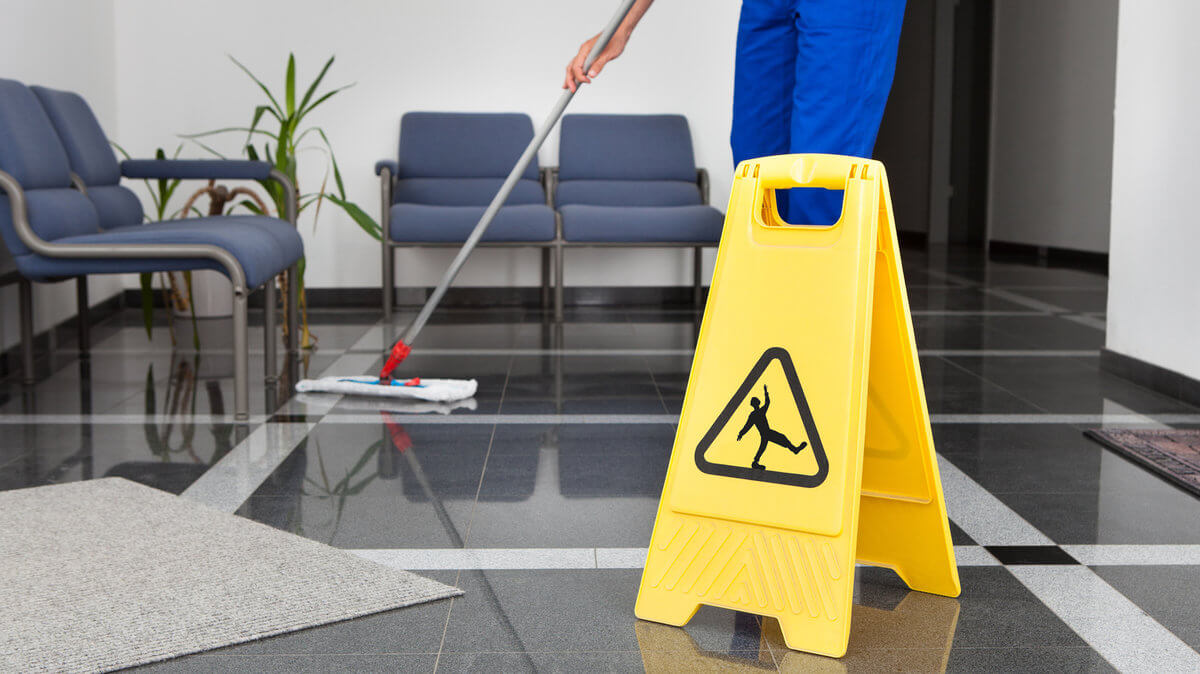 New commercial cleaning contract
